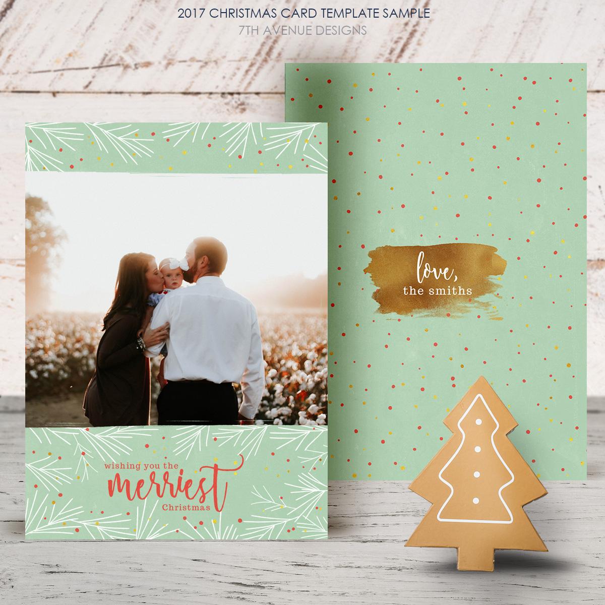 digital christmas cards templates