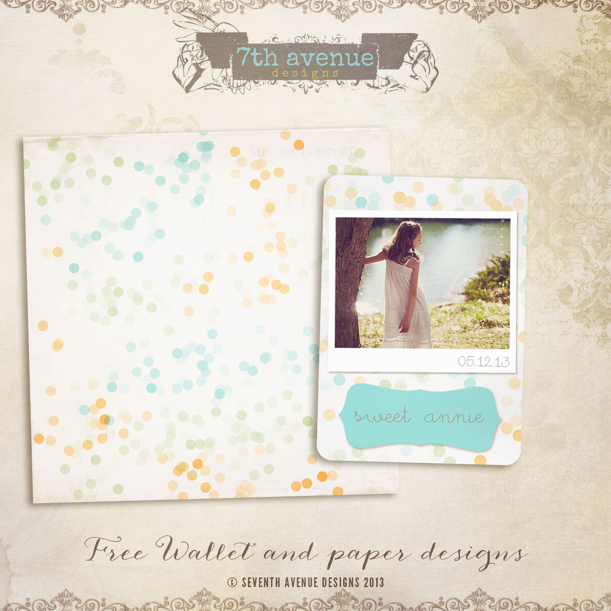 free wallet die cut template and paper freewalletpaper it s free