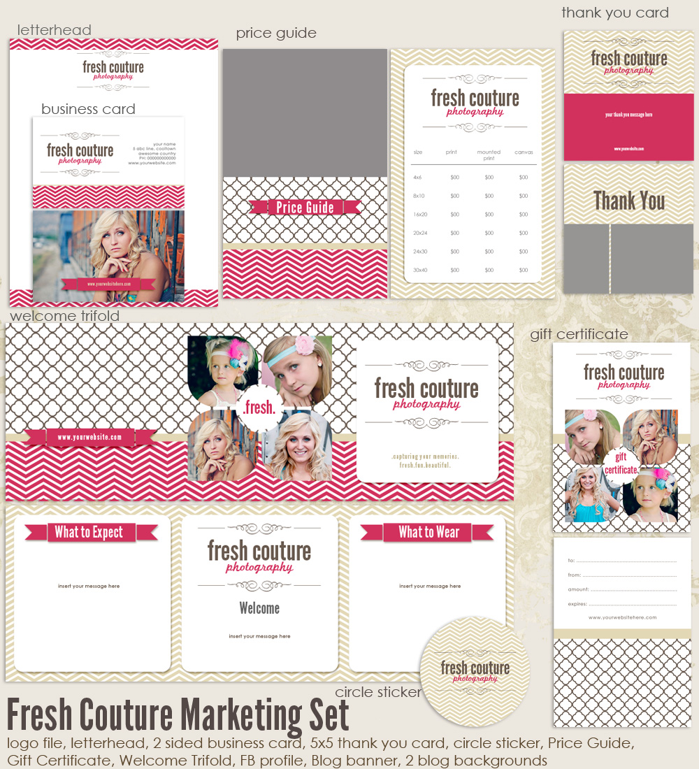 Fresh Couture Marketing Set