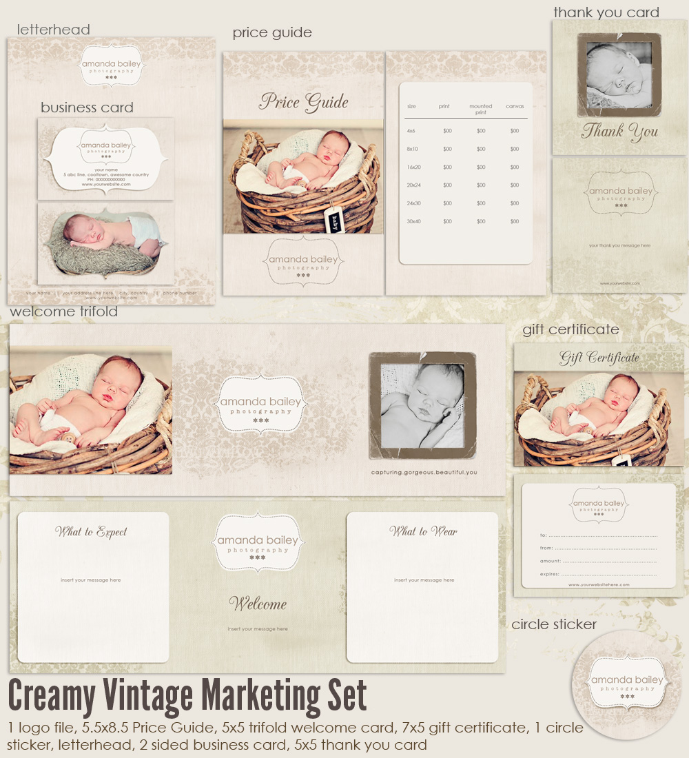 creamy vintage marketing set ms creamyvintage 20 00 7thavenue