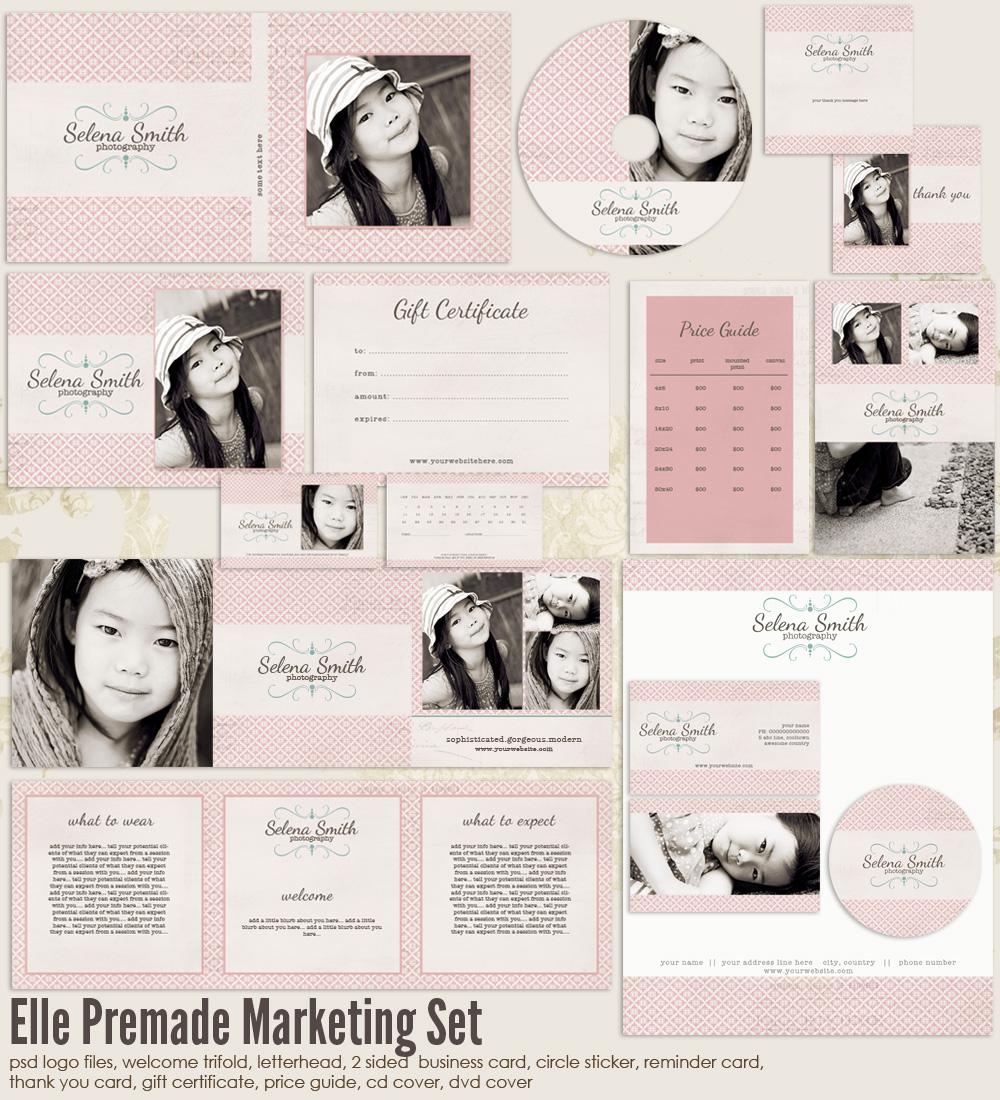 Photography Marketing Templates Photography Marketing Set