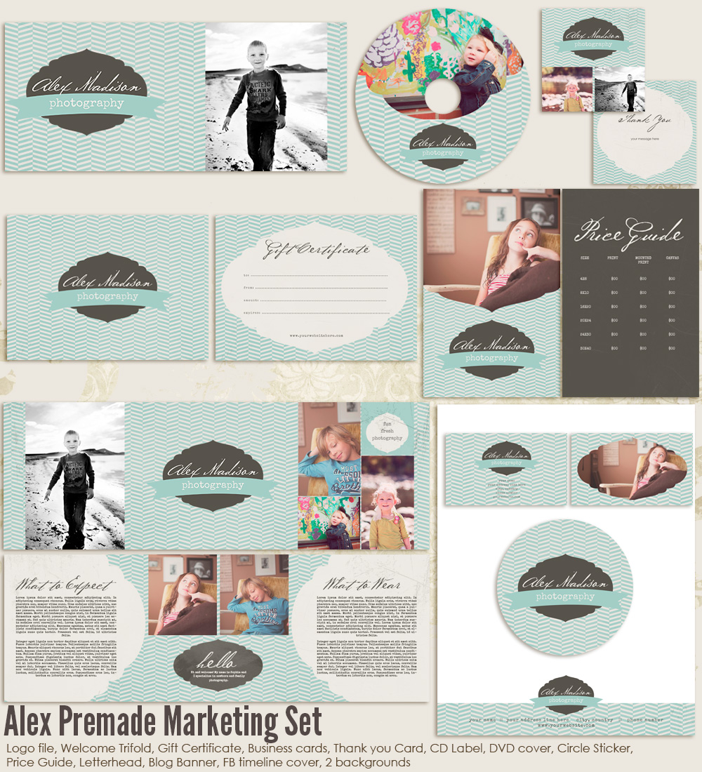 Alex Premade Marketing Set