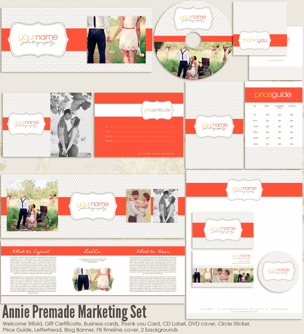 Annie Premade Marketing Set
