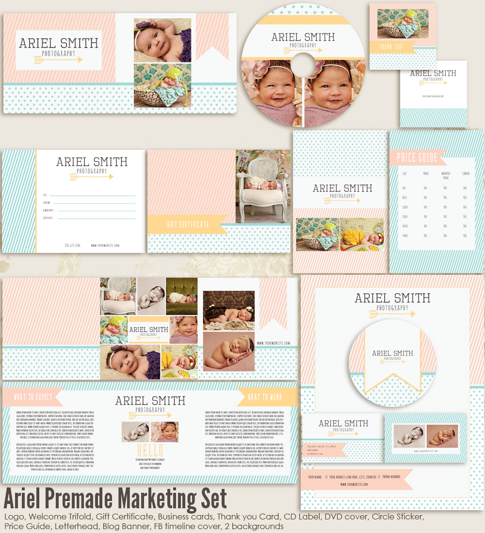 Ariel Marketing Set
