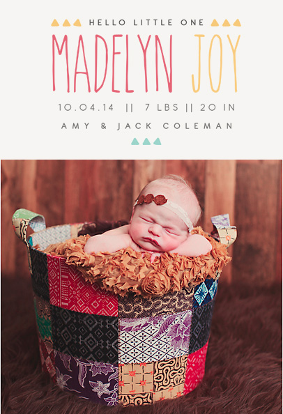 Birth Announcement Overlays vol.10