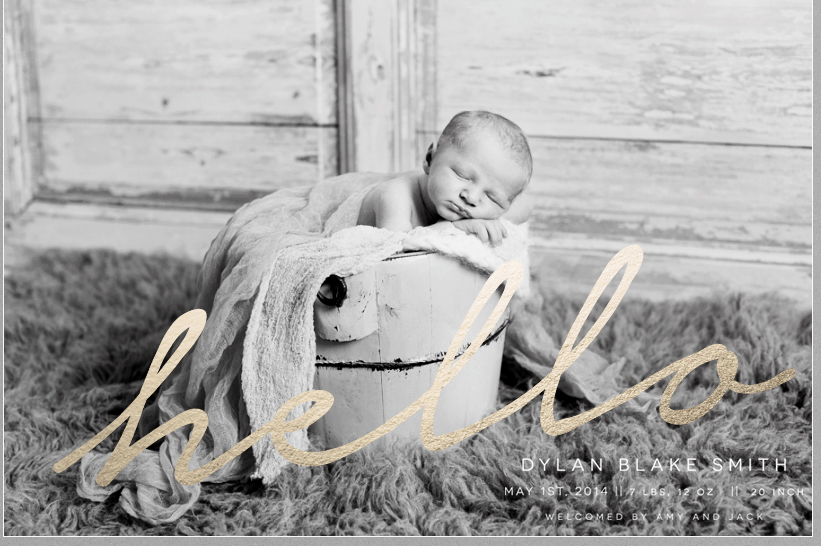 Birth Announcement Overlays vol.9