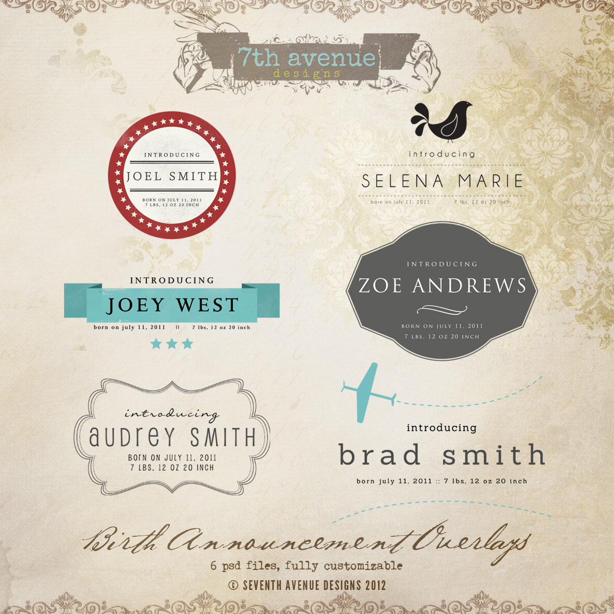 doc birth announcements templates birth birth announcement overlays vol1 overlaysba1 1000 birth announcements templates