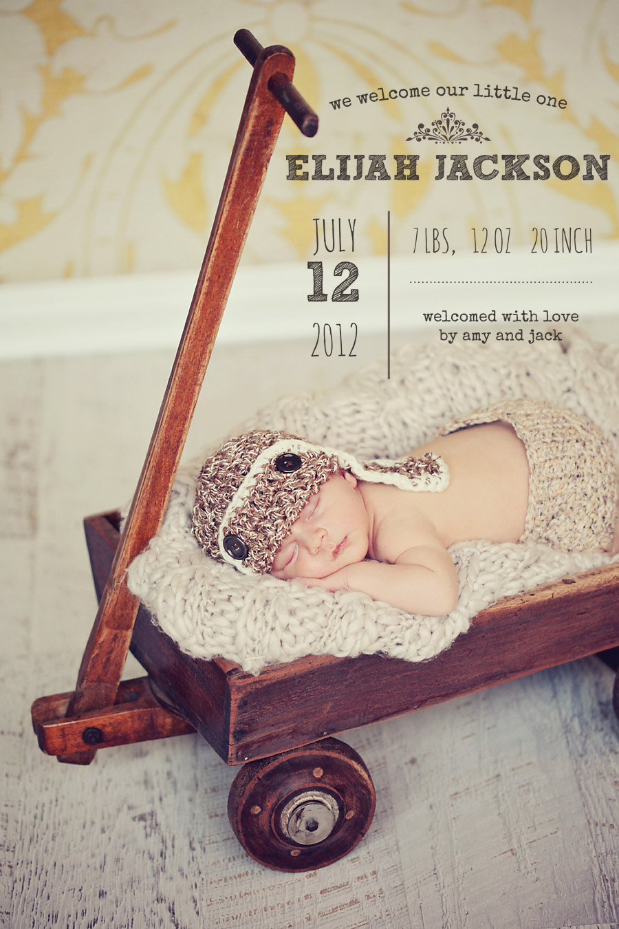 Birth Announcement Overlays vol.2