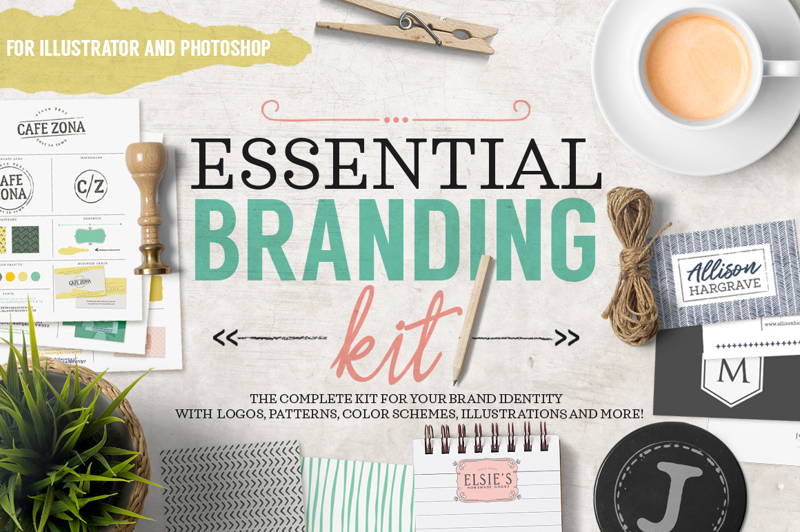 Essential Branding Kit - Click Image to Close