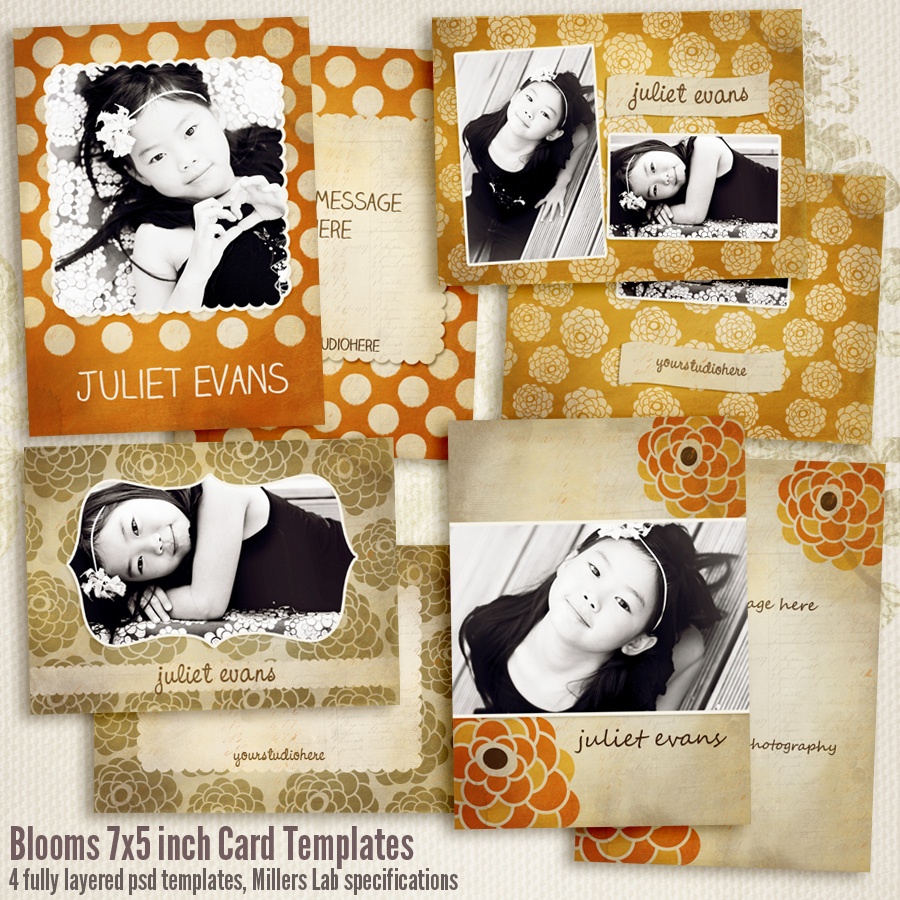 Blooms Multi Purpose Cards