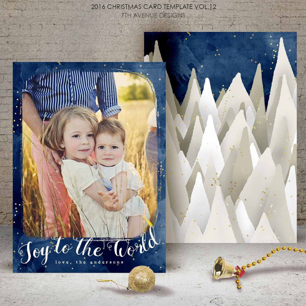 2016 Christmas Card Templates Bundle