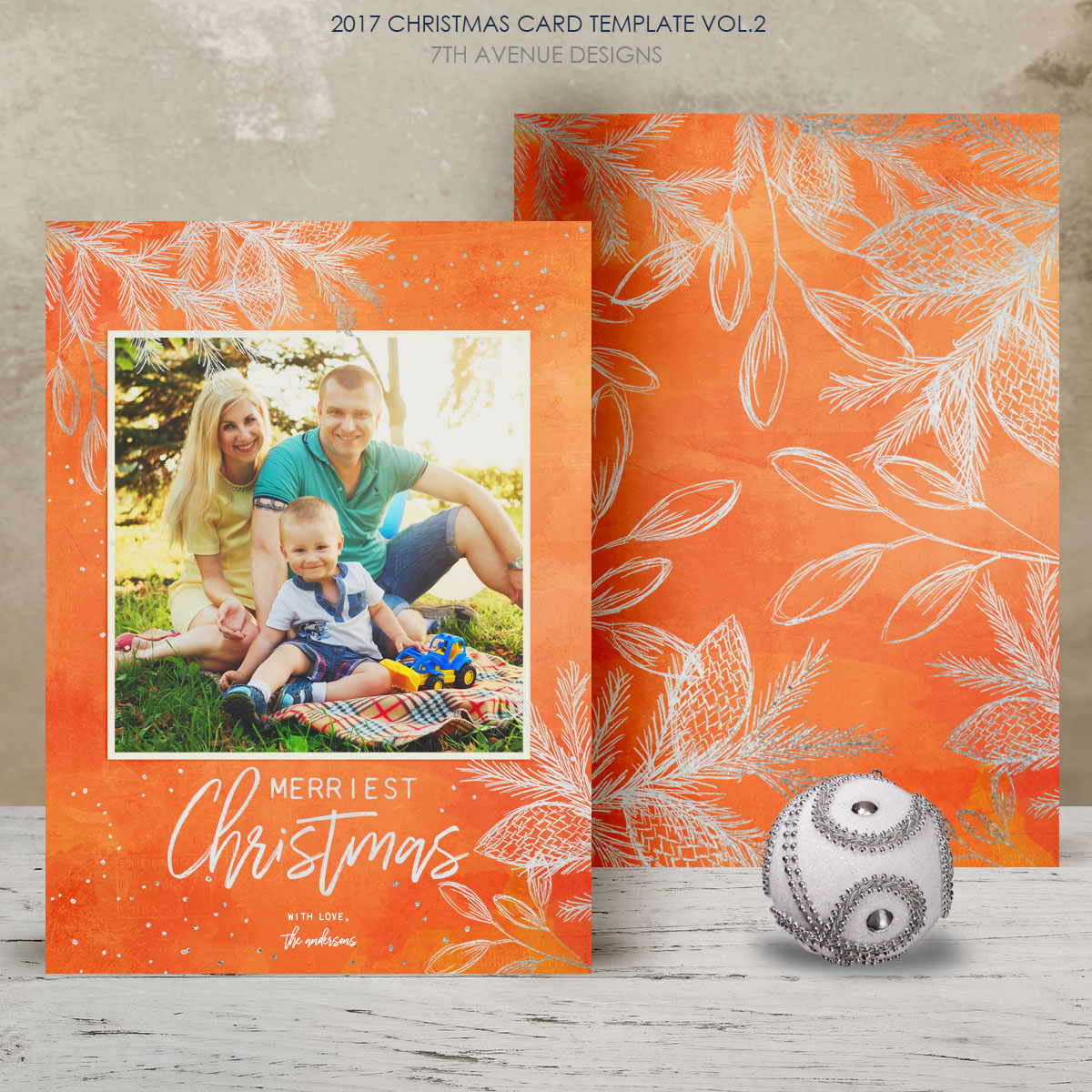 2017 Christmas Card Templates vol.2