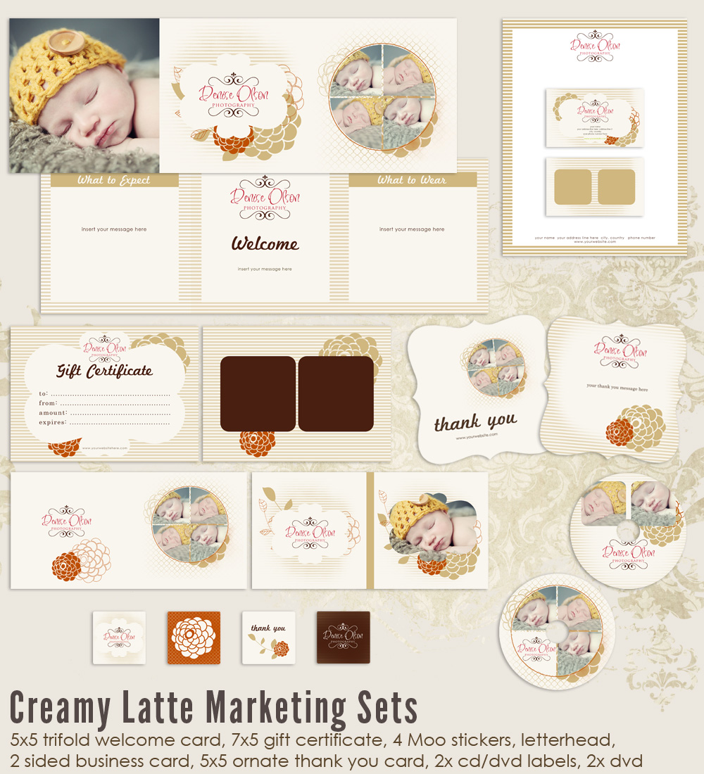 Creamy Latte Marketing Set