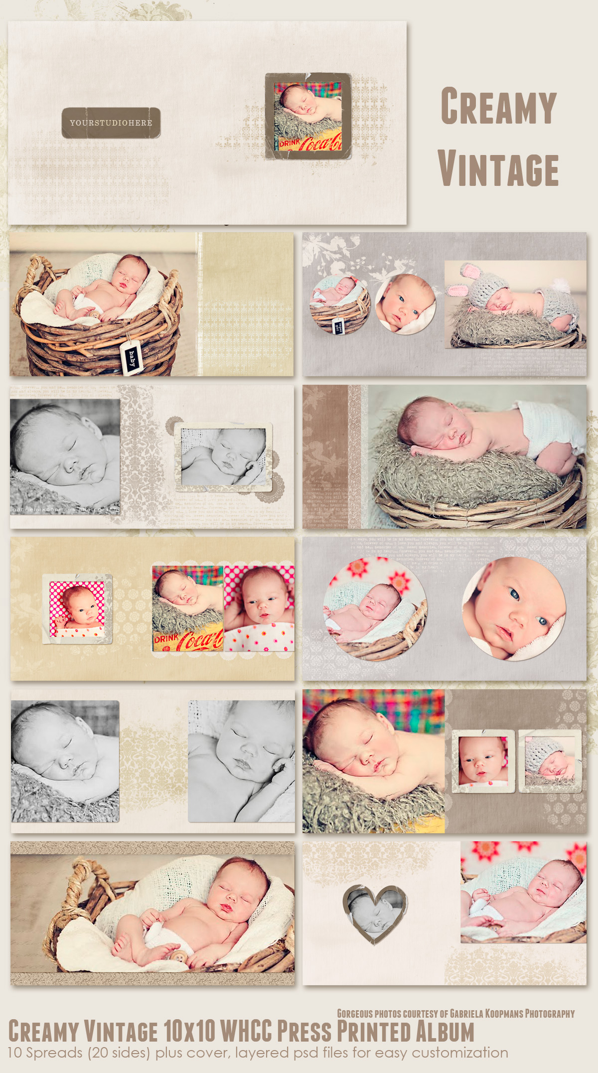 ALBUM TEMPLATES 7thAvenue Designs Logo and Templates Designs – Photo Album Templates Free