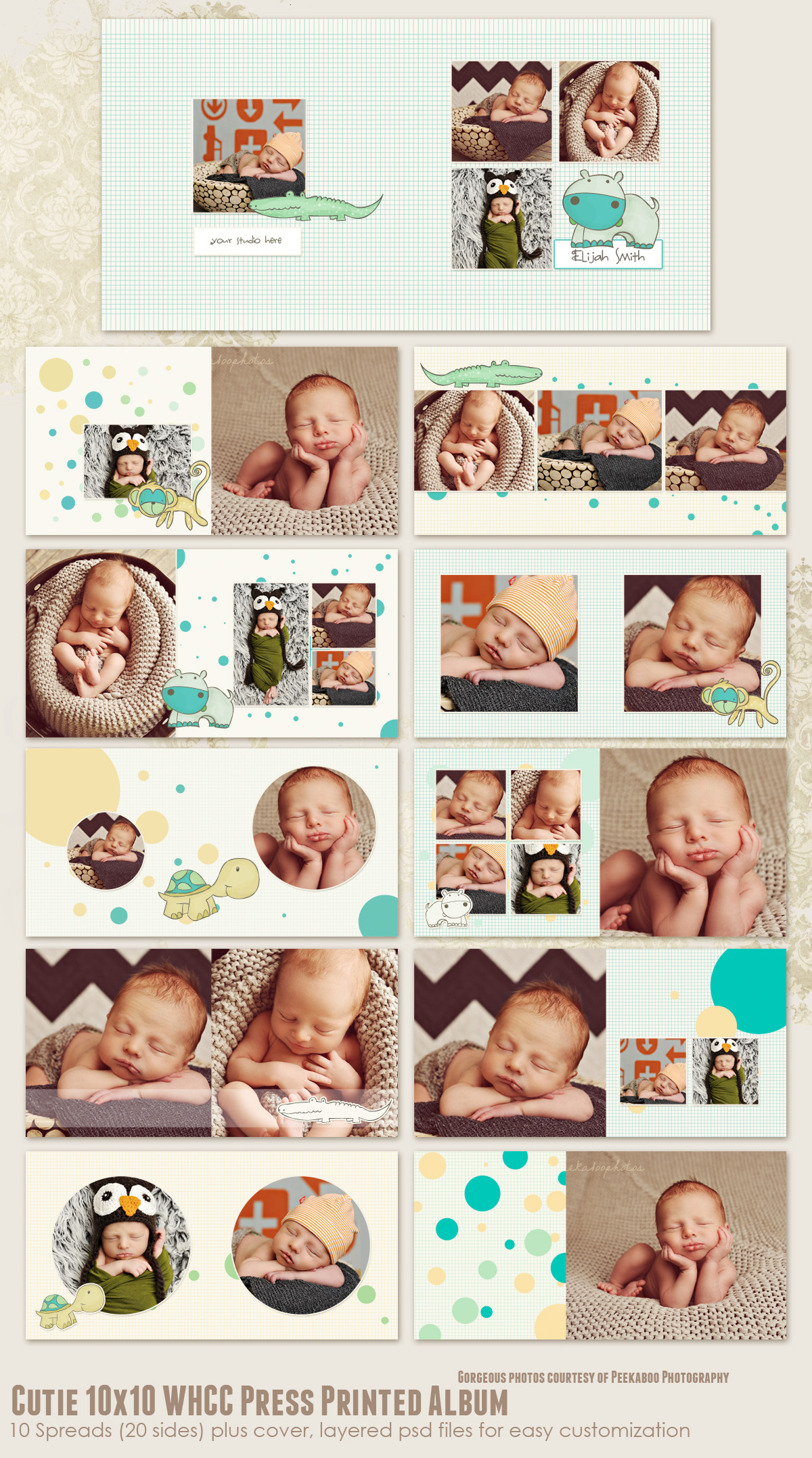Cutie 10x10 WHCC Press Printed Album