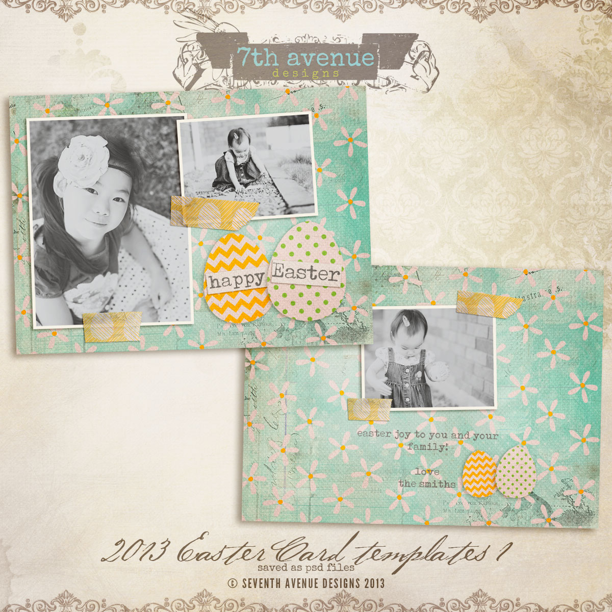 2013 Easter Card vol.1
