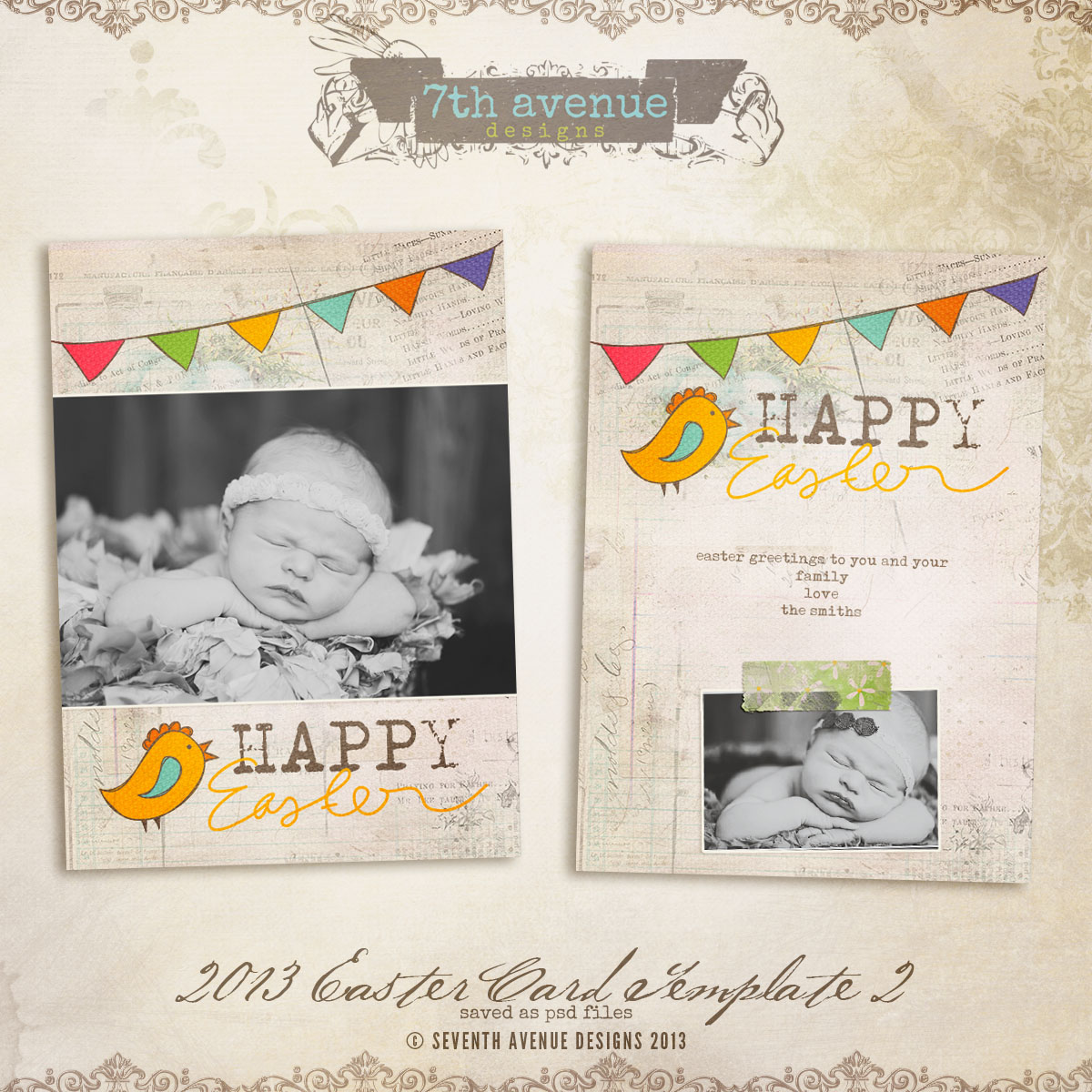 2013 Easter Card vol.2