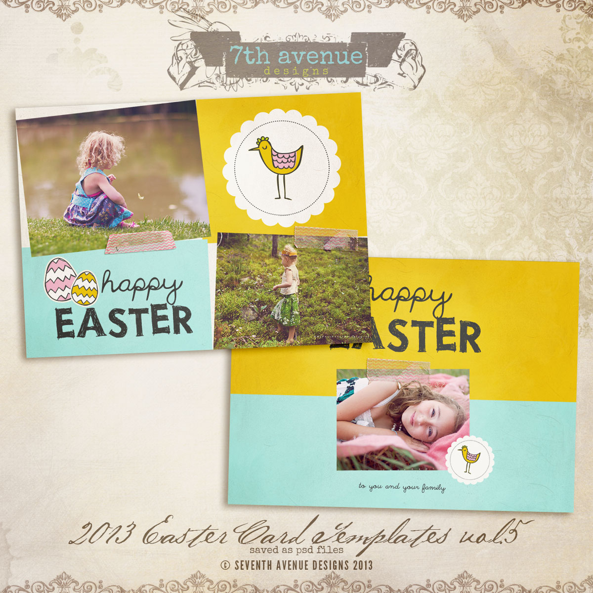2013 Easter Card vol.5