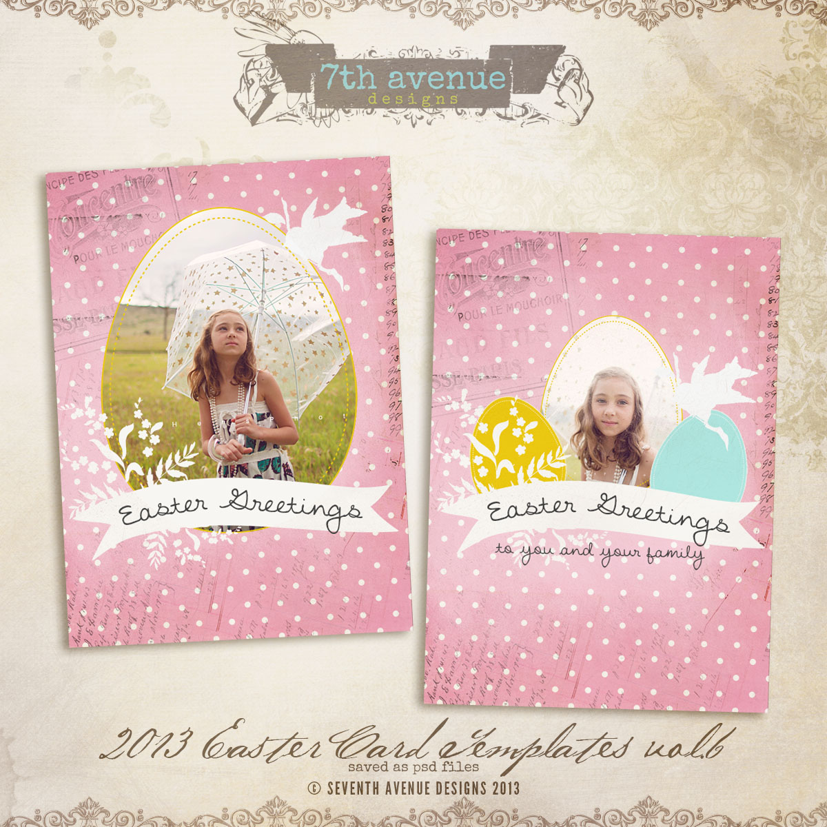 2013 Easter Card vol.6