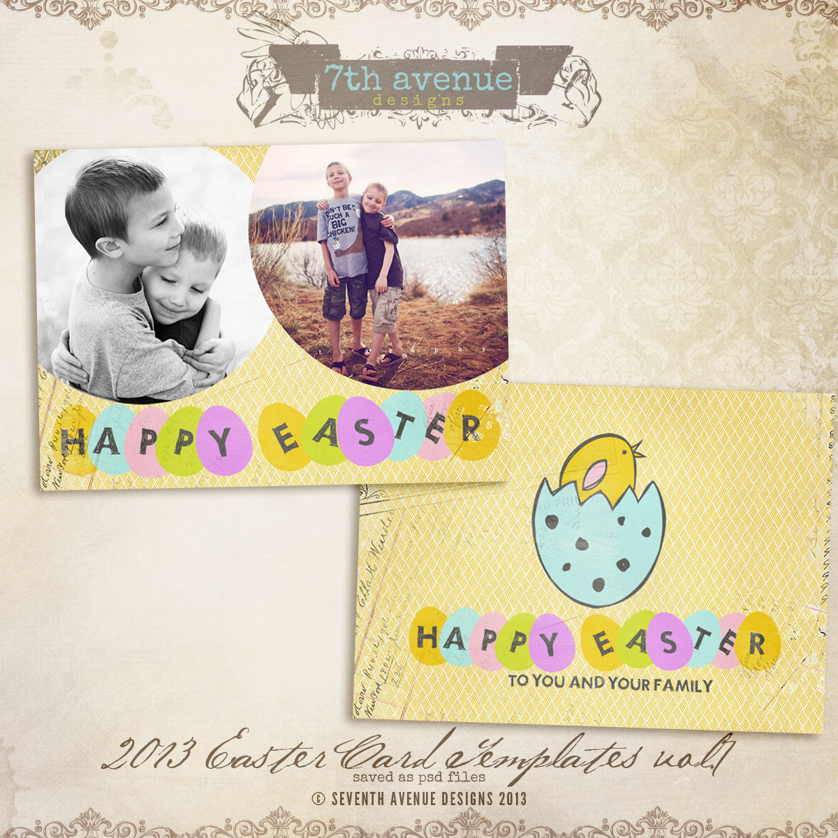 2013 Easter Card vol.7