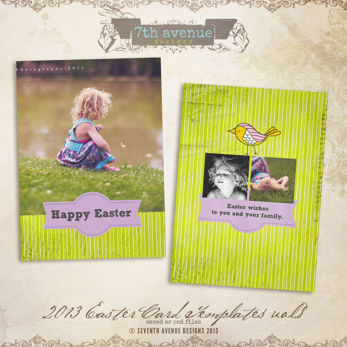 2013 Easter Card vol.8