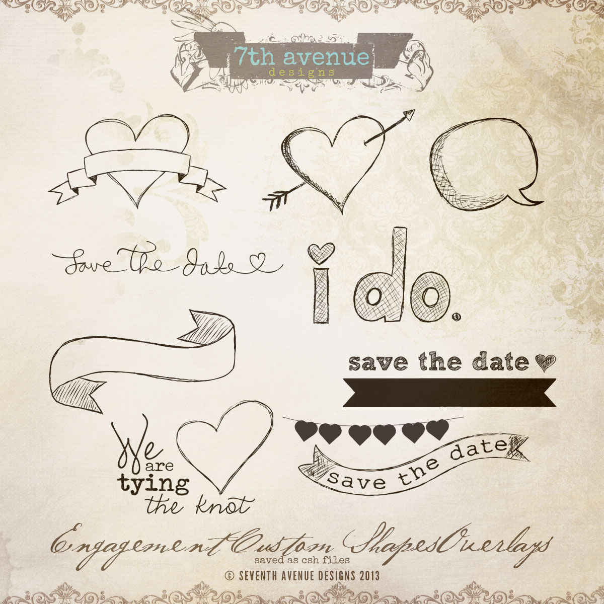 Engagement Custom Shapes Overlays
