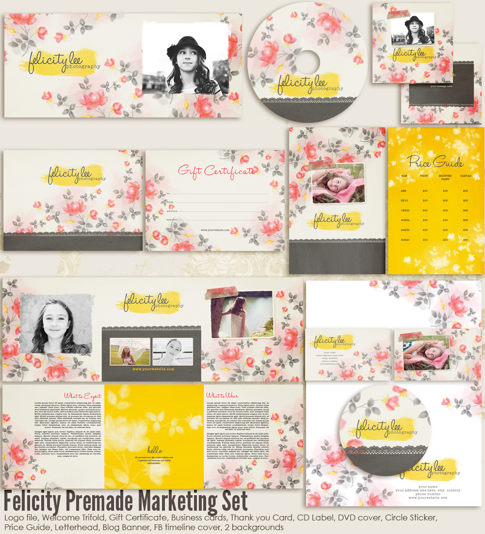 Felicity Marketing Set