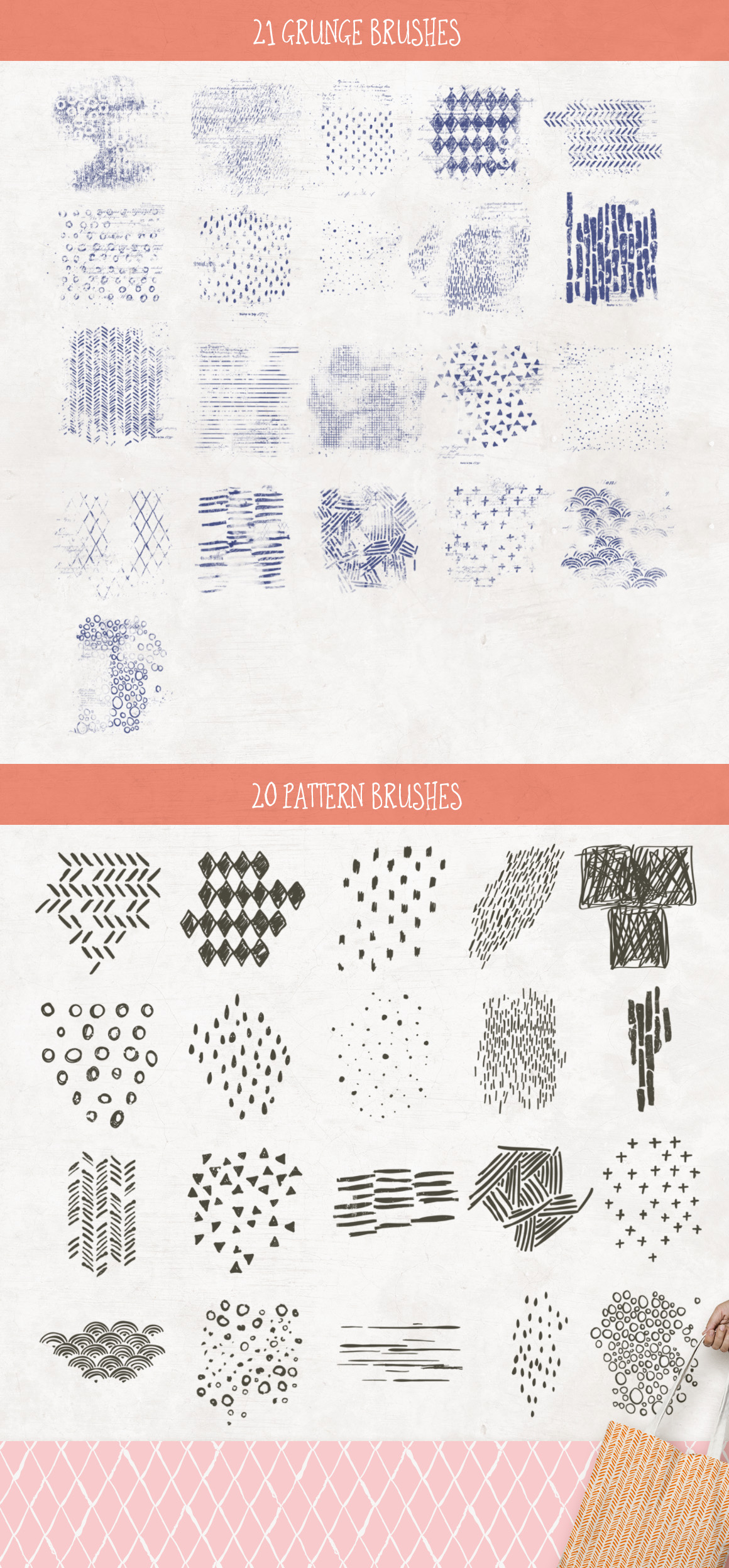 Handmade Patterns and Textures