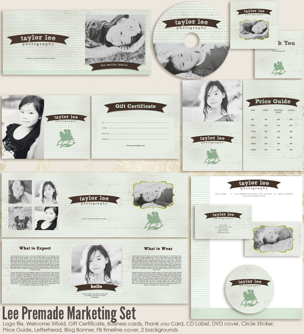 Lee Premade Marketing Set
