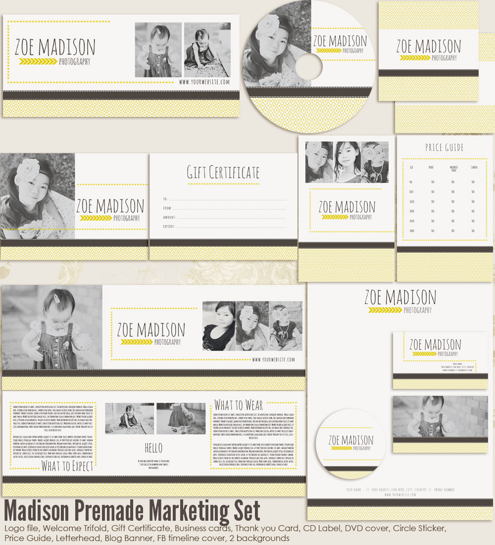 Madison Premade Marketing Set