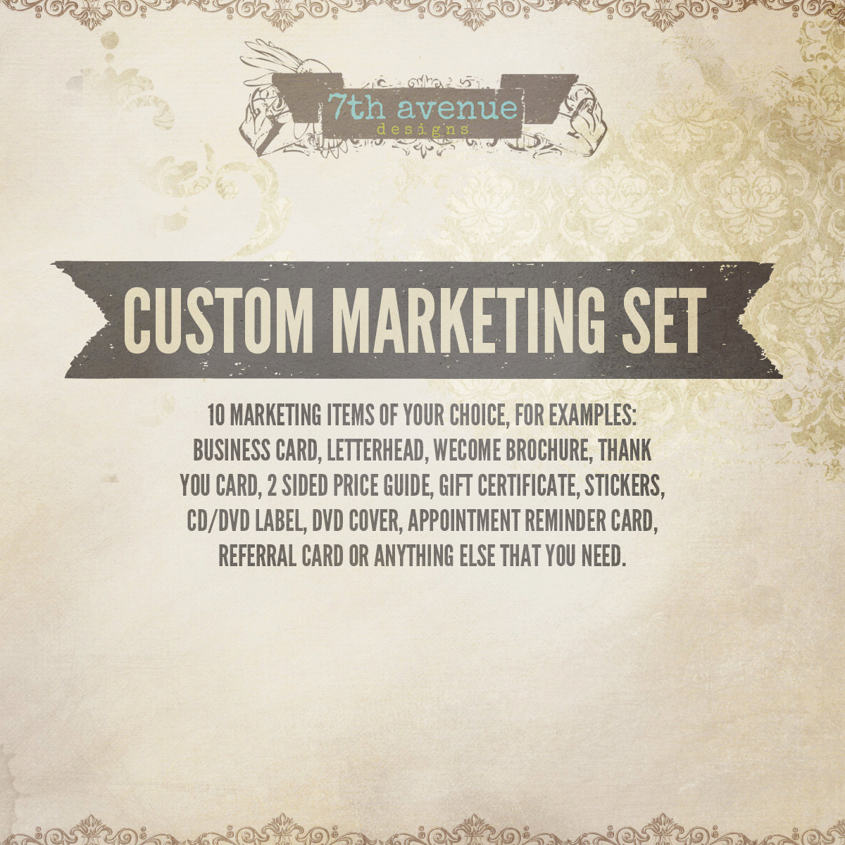 Professional Custom Marketing Set Thmarketingsets - Business thank you cards templates
