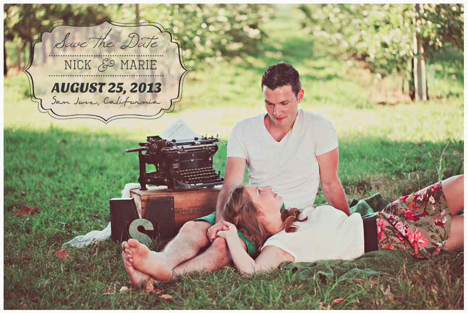 Save the Date Word Overlays vol.1