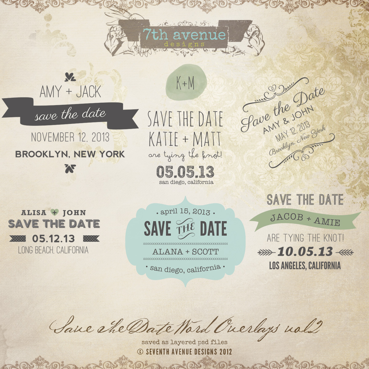 save the date postcard templates professional and high quality