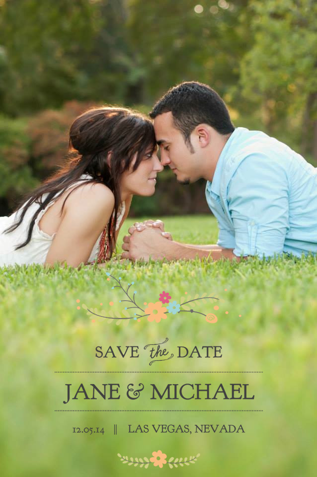 Save the Date Word Overlays vol.7