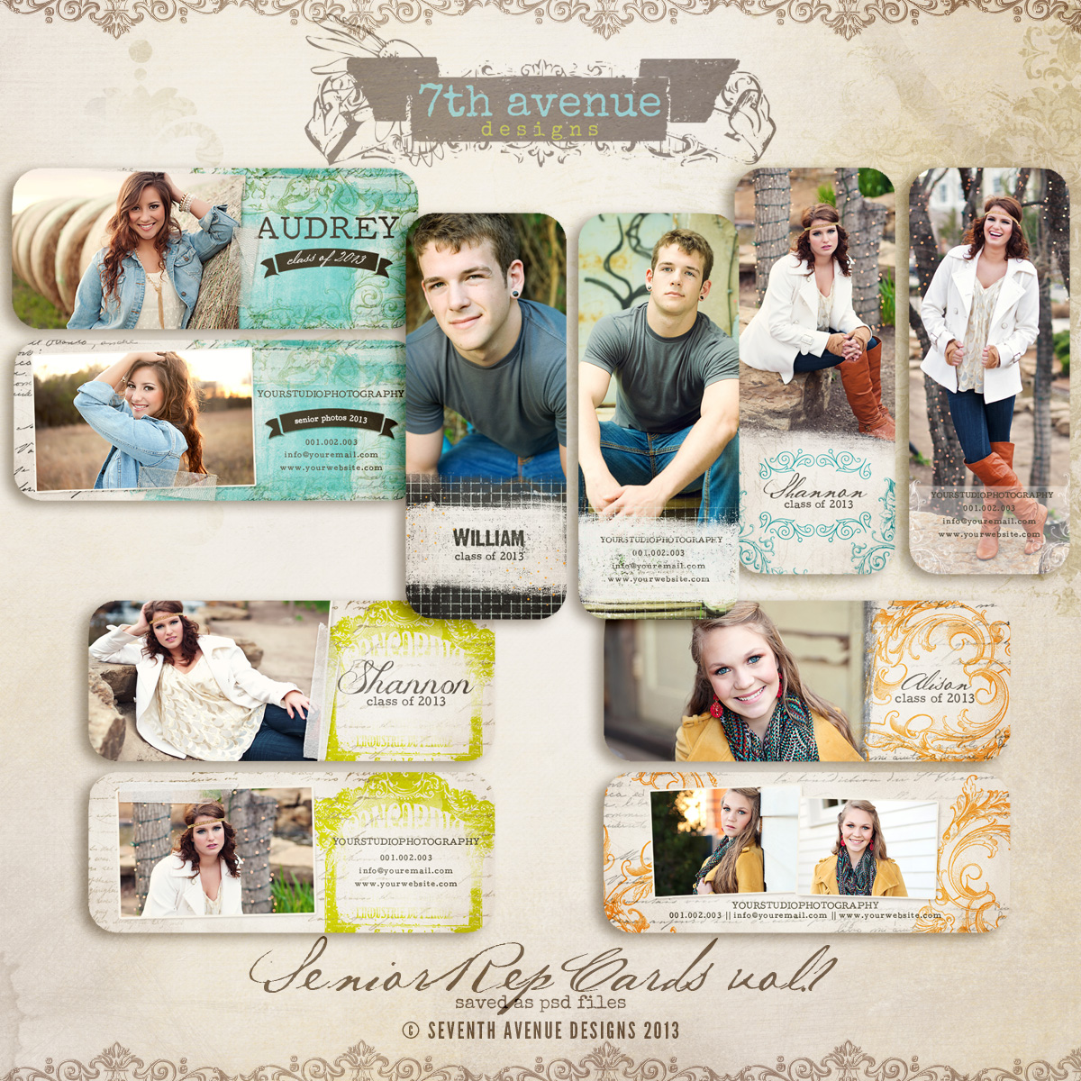 Senior Rep Cards vol.1