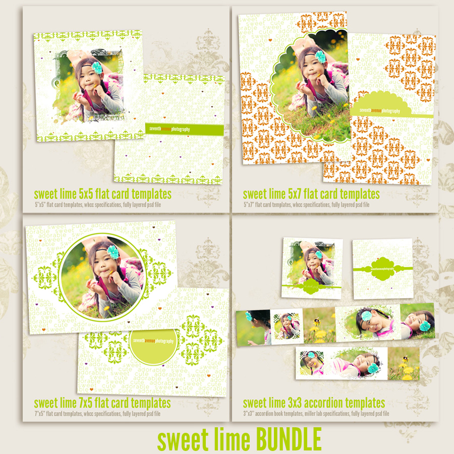 Sweet Lime Card Templates