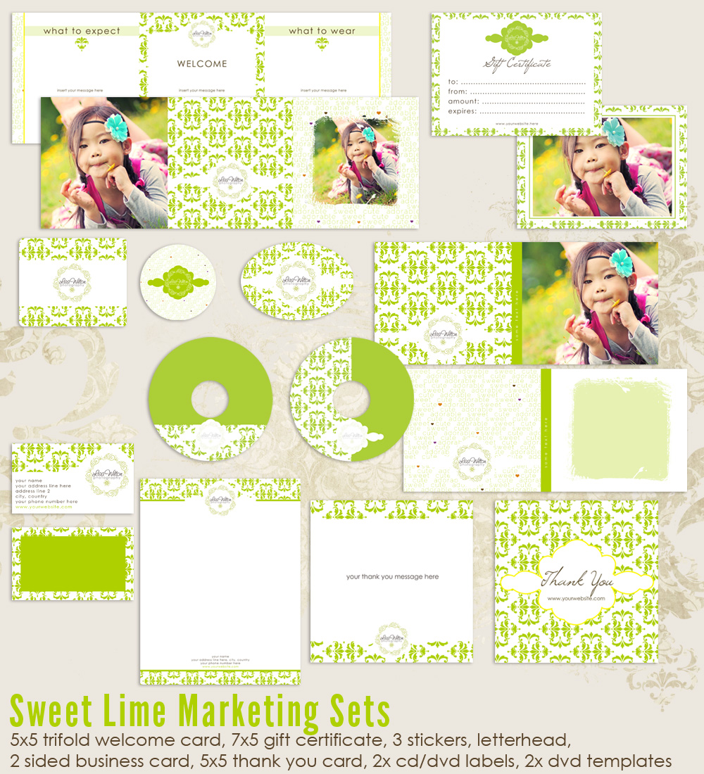 Sweet Lime Marketing Set