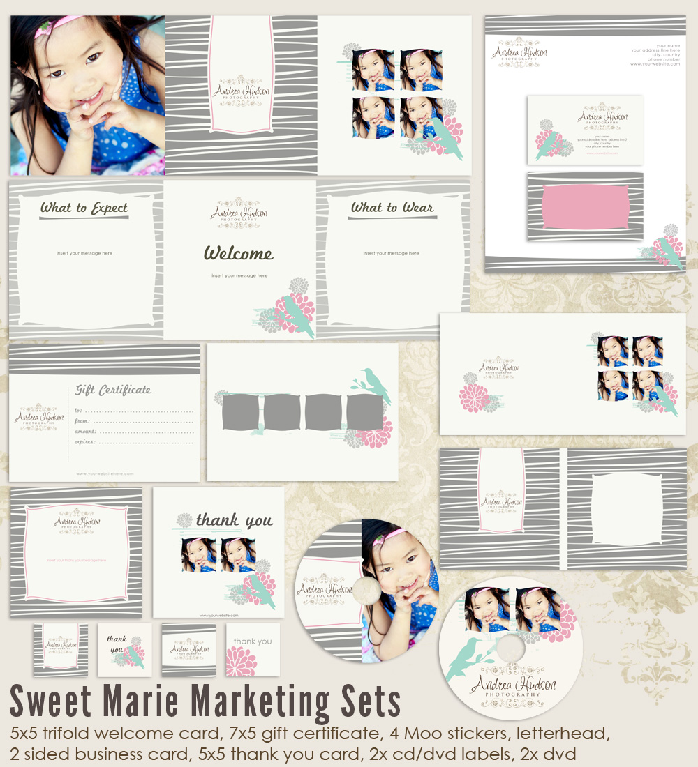 Sweet Marie Marketing Set