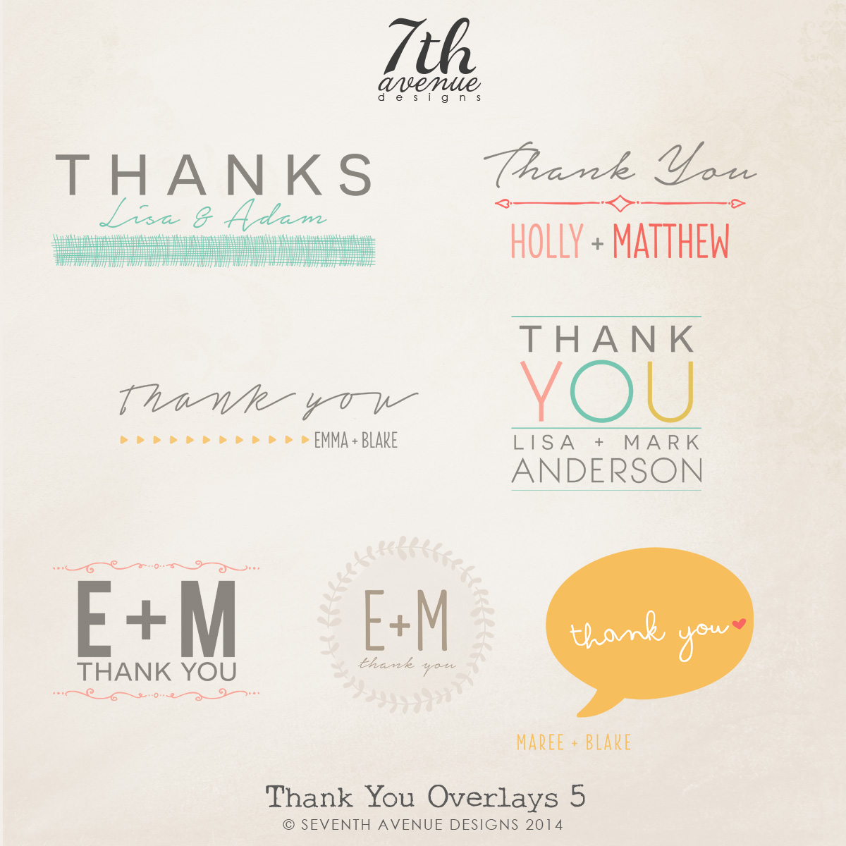 Thank You Overlays vol.5