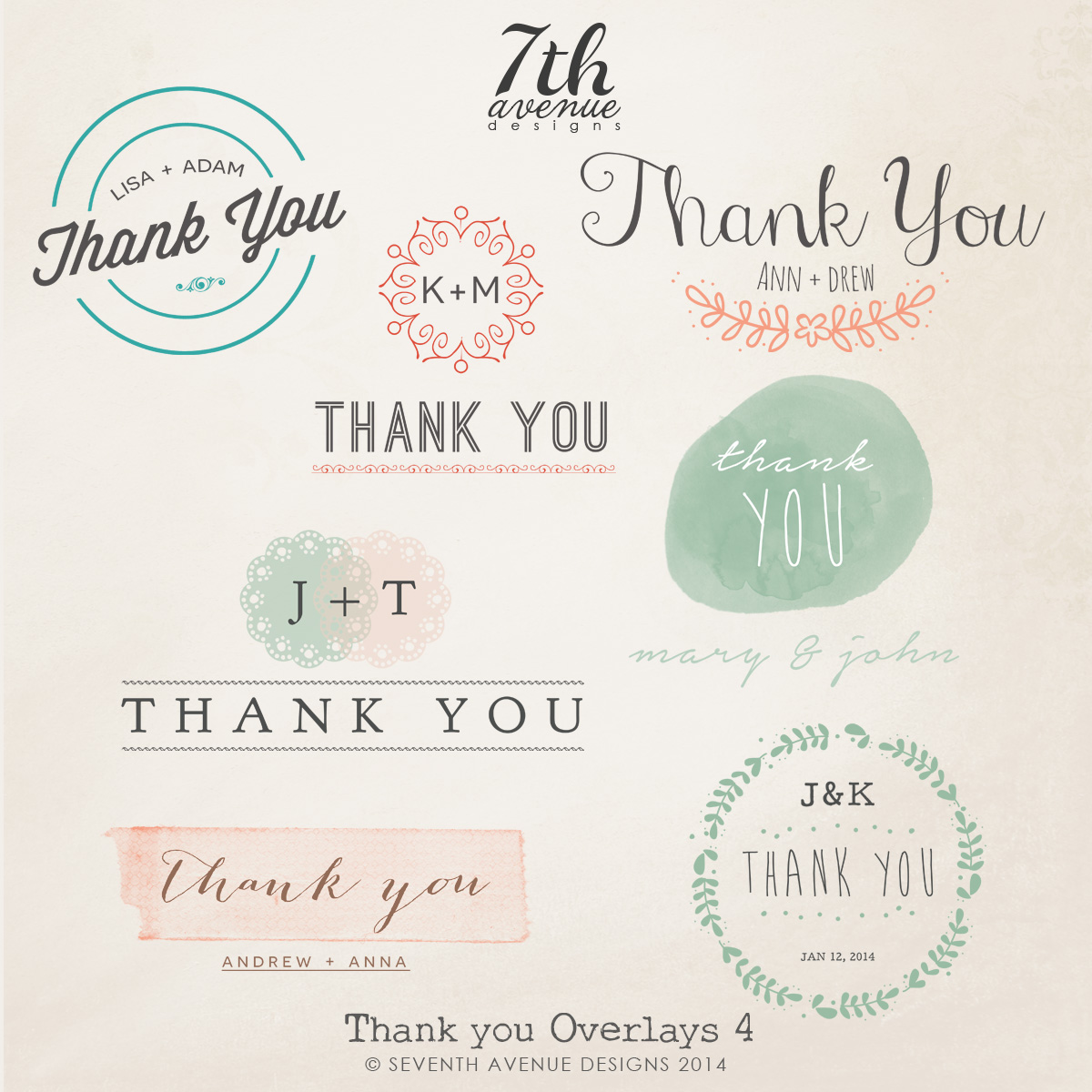 Thank You Overlays vol.4