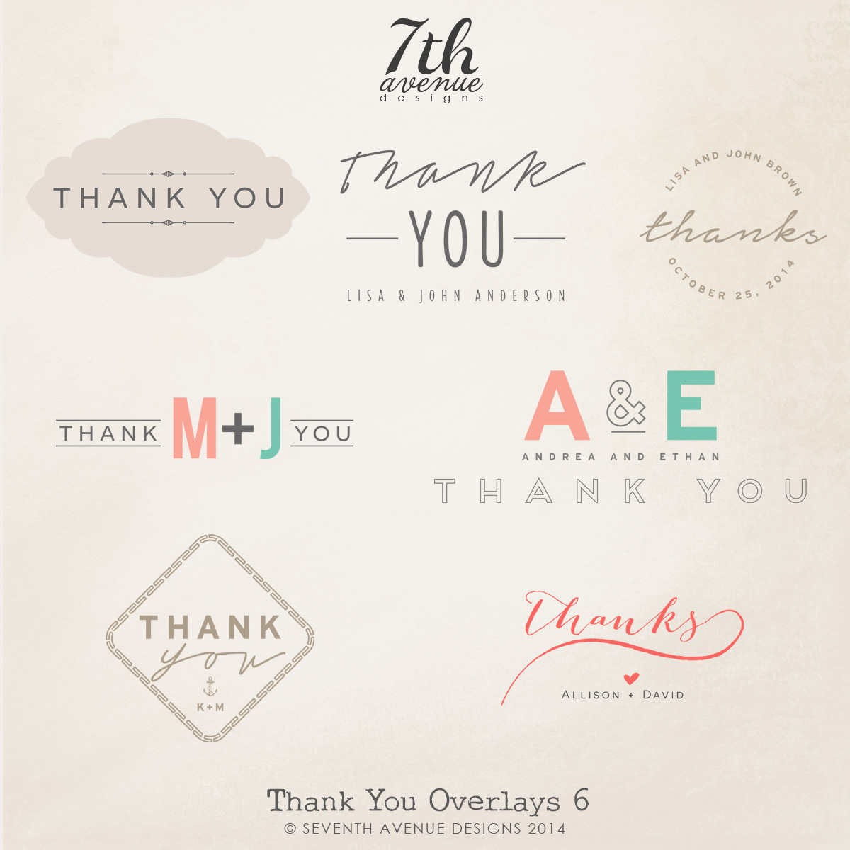 Thank You Overlays vol.6