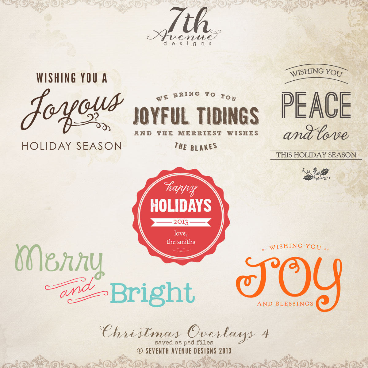 Christmas Overlays vol.4