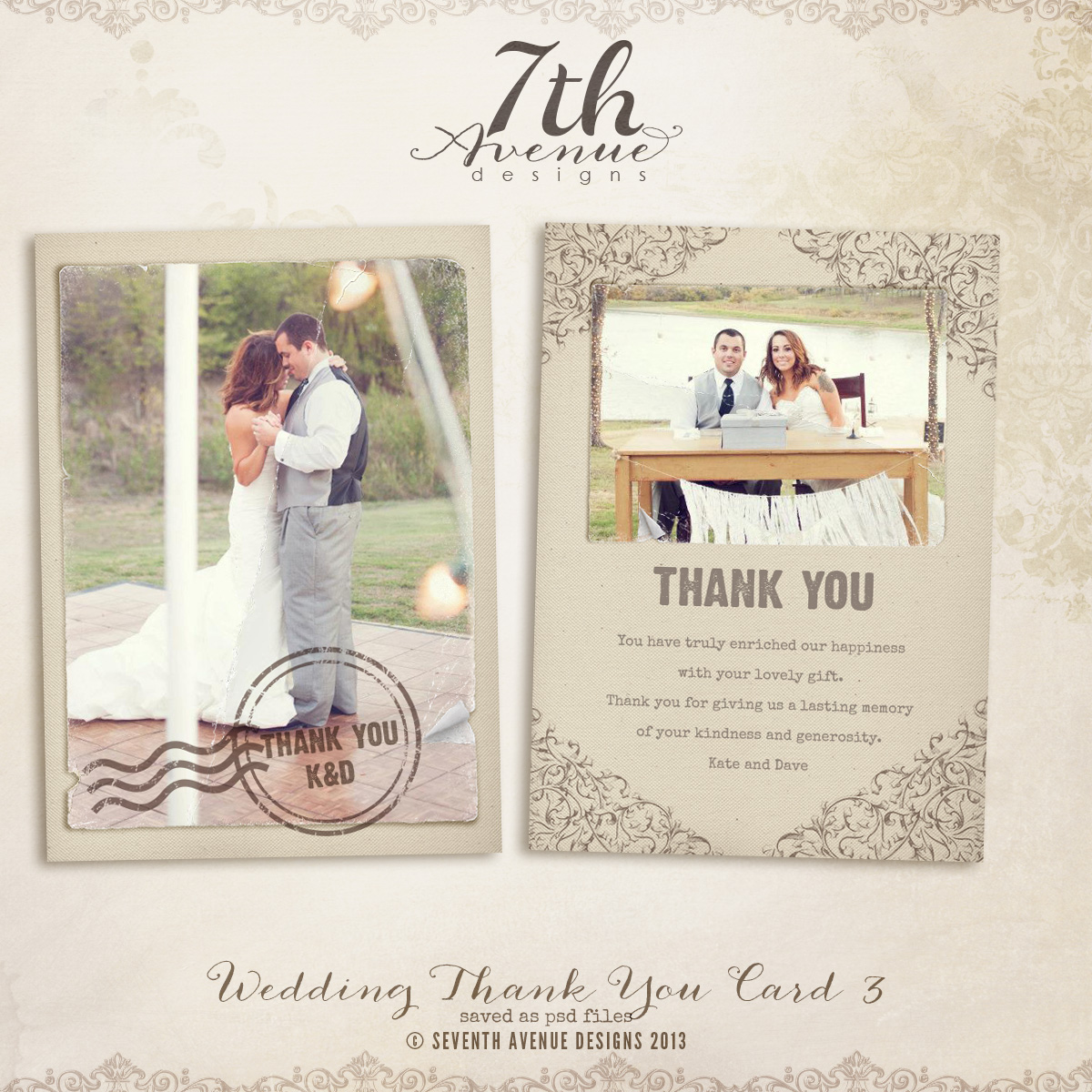 Free Wedding Thank You Card Template Tips To Write Cards Templates Anouk Invitations